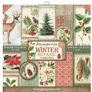 Stamperia - Double-Sided 12 x 12 Inch Paper Pack - Winter Botanic